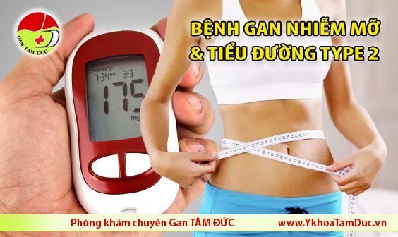 bệnh gan nhiễm mỡ và bệnh tiểu đường type 2 người gầy bị tiểu đường