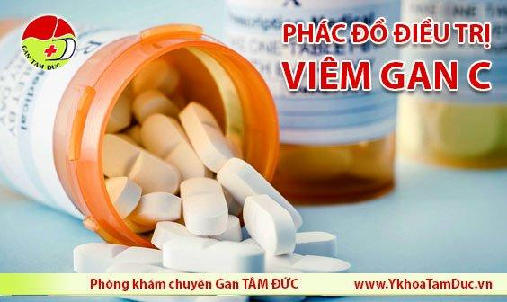 phác đồ điều trị viêm gan c mới nhất 2019 chữa viêm gan c tphcm